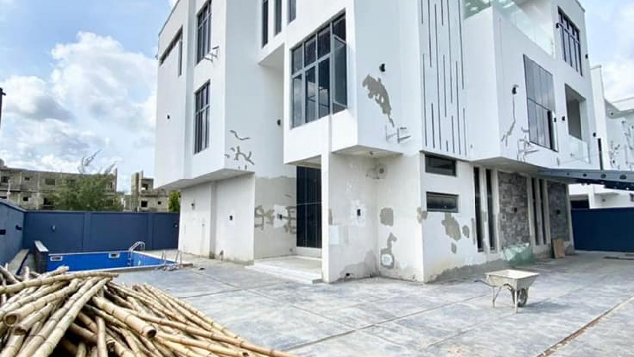 5bedroom duplex for sale at osapa london lekki