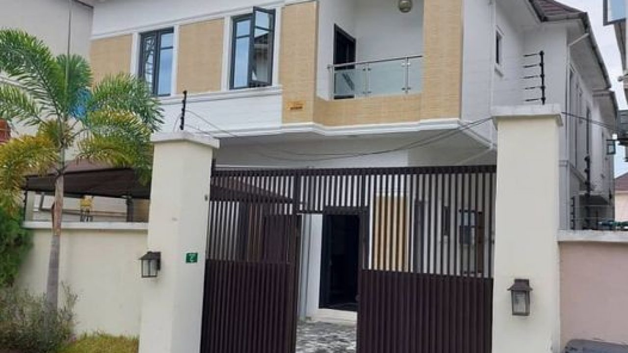 4 bedroom house for sale in osapa london lekki
