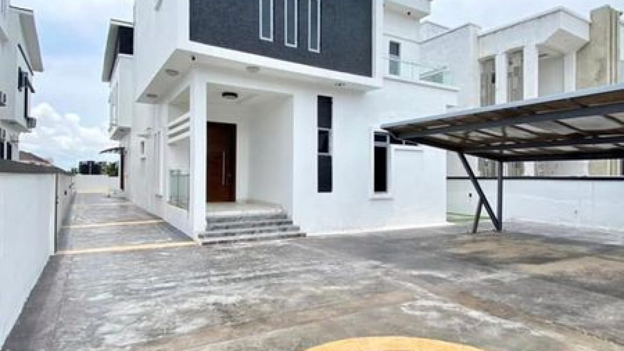 5 bedroom duplex for sale pinnock beach lekki lagos