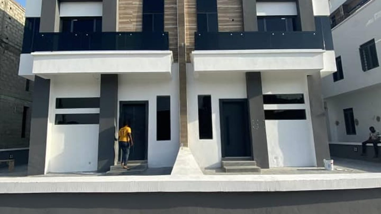 4 bedroom semi detached duplex in lekki