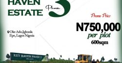 land for sale in epe lagos