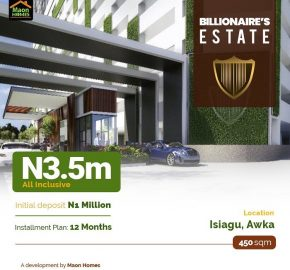 Affordable land for sale in Awka
