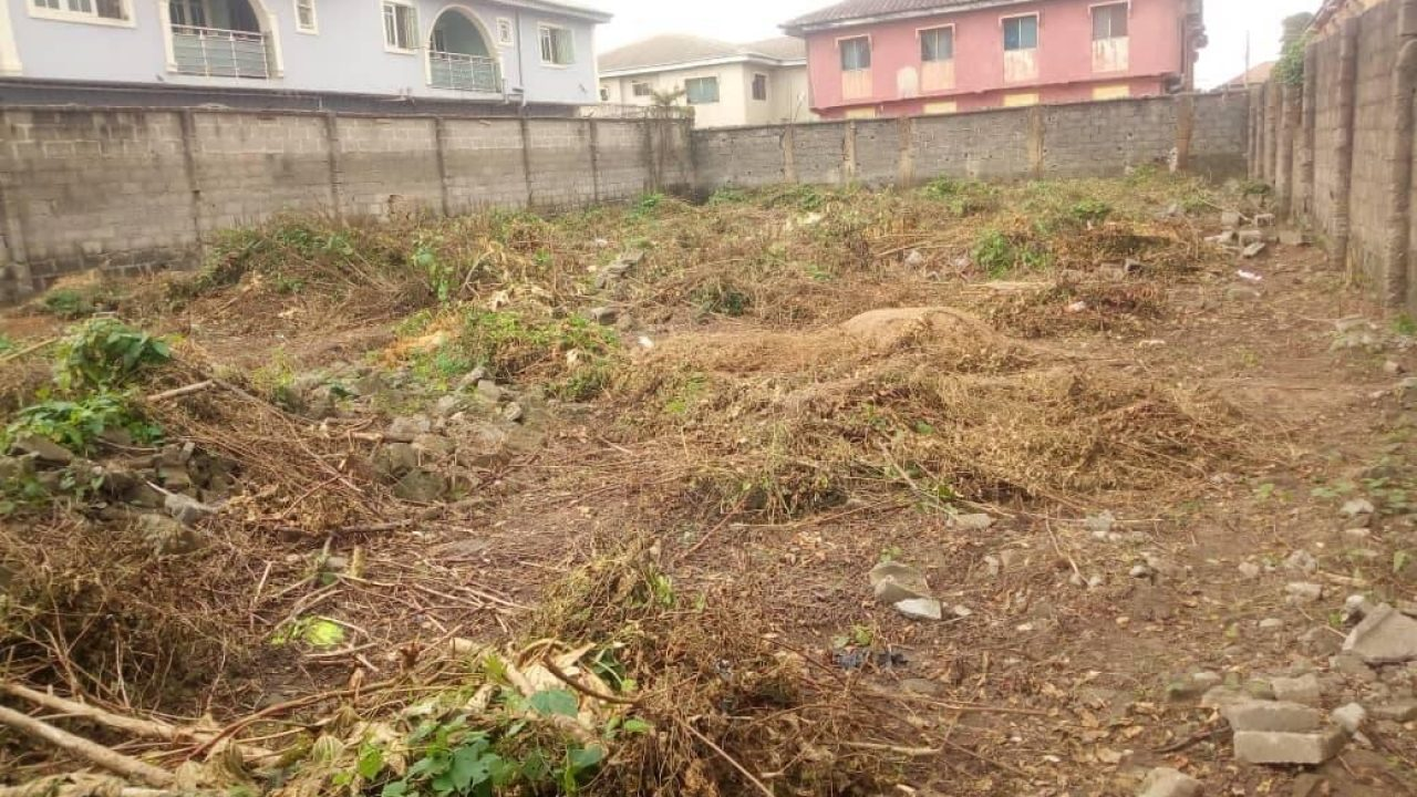 LAND FOR SALE IN GOVERNORS ROAD IGANDO