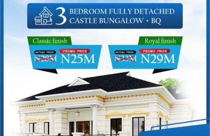 House & lands in Awoyaya for sale